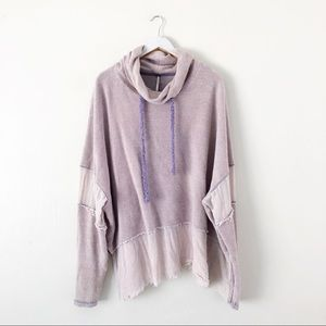 Free People Zoe Pullover Lavender